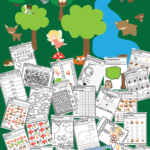 Free Fairy Wood Land Creatures Activity Book