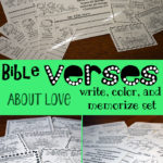 Limited Time Freebie ~ Bible Verses About Love