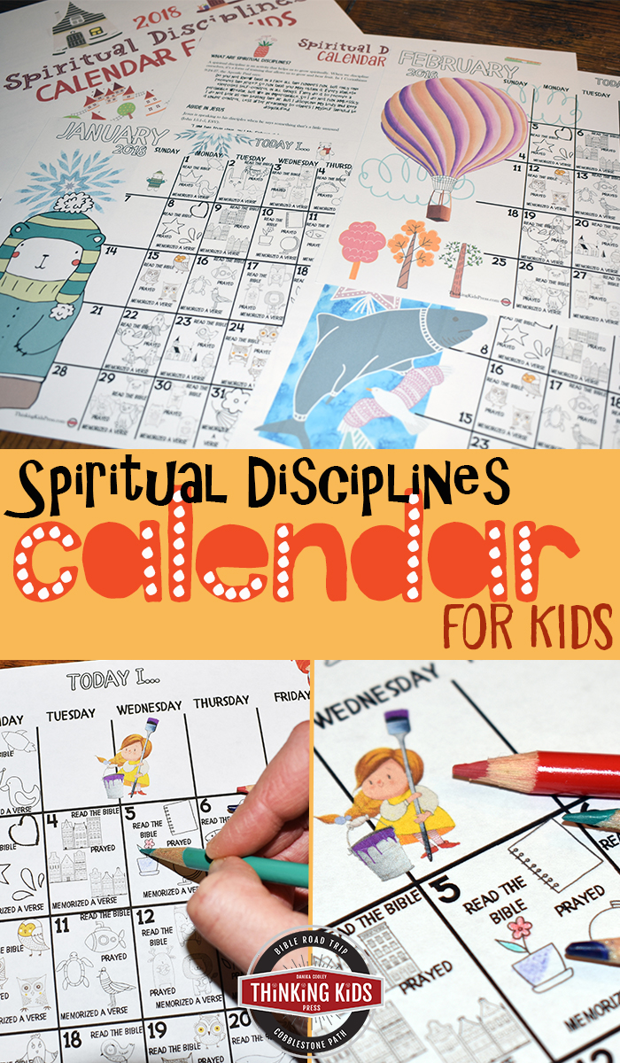 Would you like to work on the different Spiritual Disciplines with your kids this year? Thru January 15, 2018, you can get these calendars FREE. :: www.thriftyhomeschoolers.com