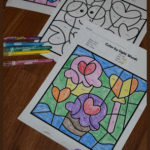 Valentine's Day Color by Sight Word Printables