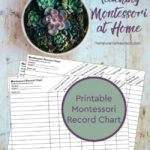 Teaching Montessori at Home + Montessori Curriculum Free Download