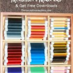 10 Tips to Making Inexpensive Montessori Materials – Free Downloads