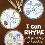 Free Printable Rhyming Wheels