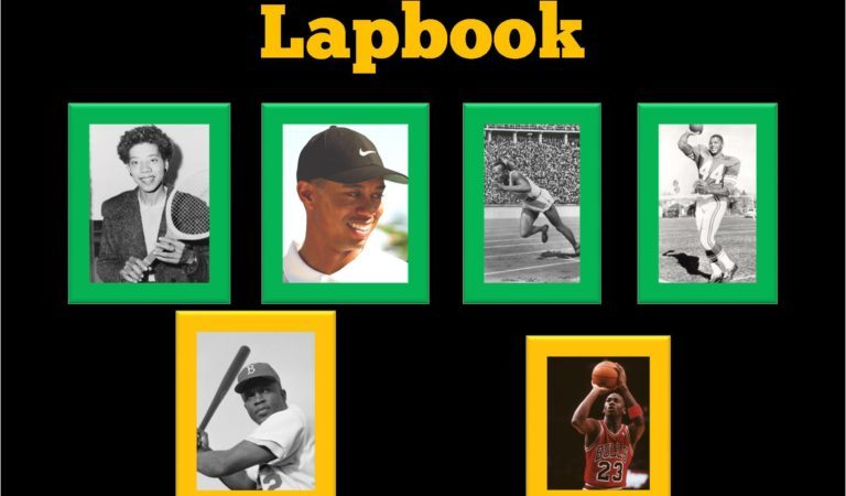 Limited Time Freebie ~ 10 Black Athletes Who Changed the World