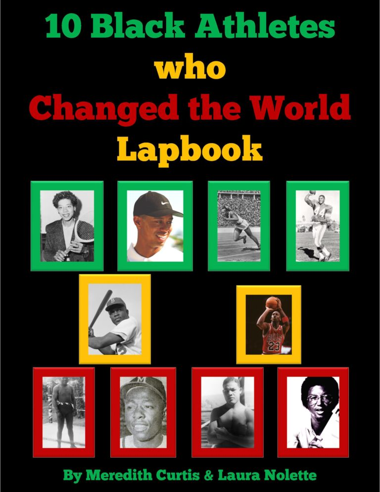 Whether for Black History Month or the Winter Games, learn about 10 Black Athletes who changed the world in this Lapbook. Get it FREE for a Limited Time Only! Offer expires February 14th, 2018. :: www.thriftyhomeschoolers.com