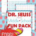 Dr. Seuss Themed Middle School Fun Pack