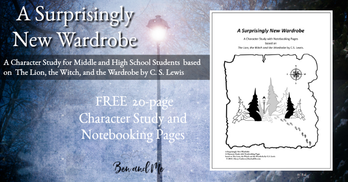 If you've ever read The Lion, the Witch and the Wardrobe by C.S. Lewis, you will love this new Character Study for Middle & High School. This character study will help students learn to reason on their own, open their eyes to a world around them they may not have fully noticed before and more! :: www.thriftyhomeschoolers.com