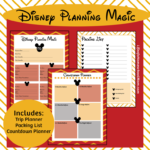 Disney Planning Kit Freebie