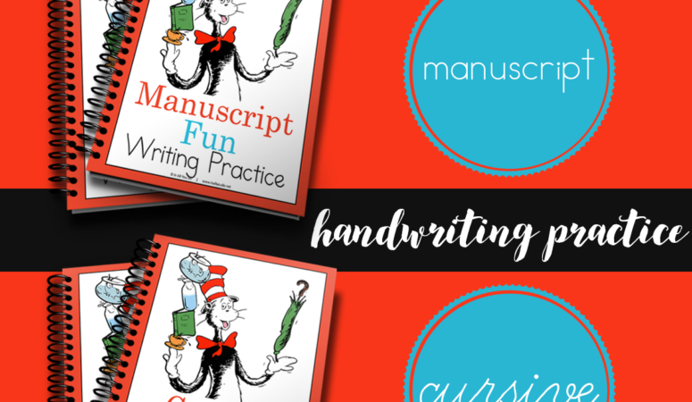 Free Seuss Inspired Fun Handwriting Practice Pages