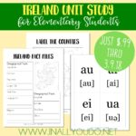 Ireland Mini Unit Study ~ Sale $.99
