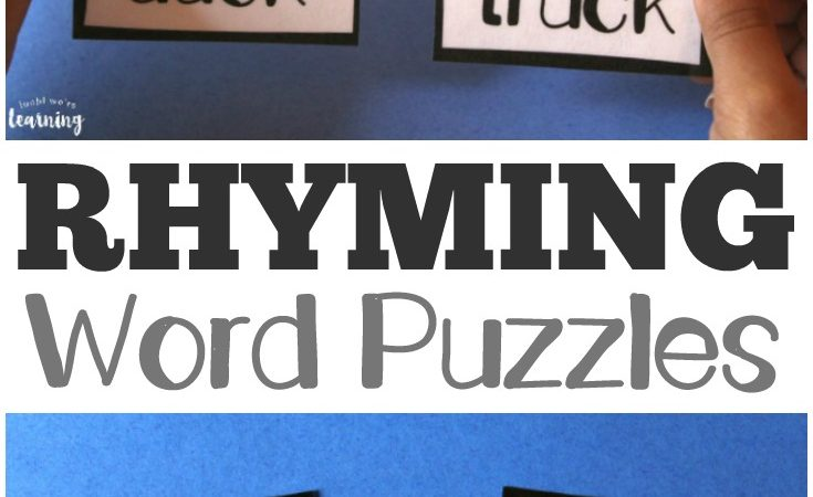 Free Rhyming Word Puzzles