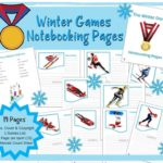 Free Winter Games Notebooking Pages