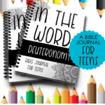 Limited Time Freebie ~ Deuteronomy Bible Journal for Teens