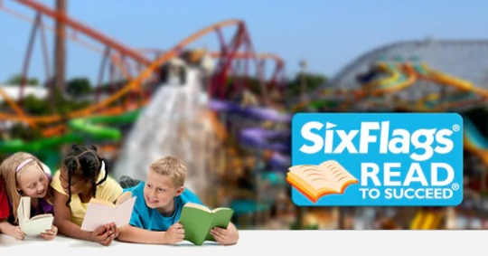 "Thanks to one of the members in our Thrifty Homeschoolers Facebook Group for sharing this great deal with me! If you live near one of the Six Flags Theme Parks, be sure to check out their ""Read to Succeed"" program! Deadline to register is March 1,2018! :: www.thriftyhomeschoolers.com"
