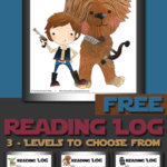 Freebie ~ Star Wars Themed Reading Logs
