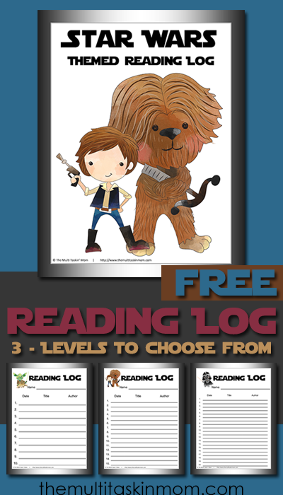 If you have Star Wars fans in your home, don't miss these printable reading logs. Available in 3 levels, not only are they fun, but a great motivator with the adorable images! :: www.thriftyhomeschoolers.com