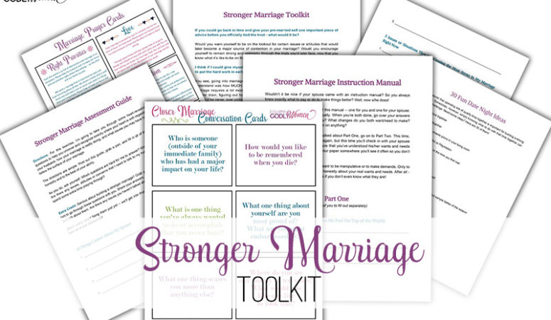 Stronger Marriage Toolkit Freebie (One Week ONLY)