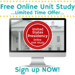 Free US Presidency Online Unit Study