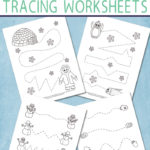 Free Winter Tracing Worksheets