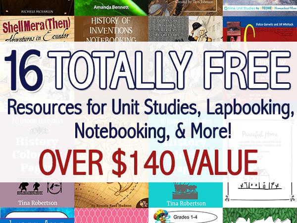 Limited Time ~ Unit Studies Bundle ($140 Value)