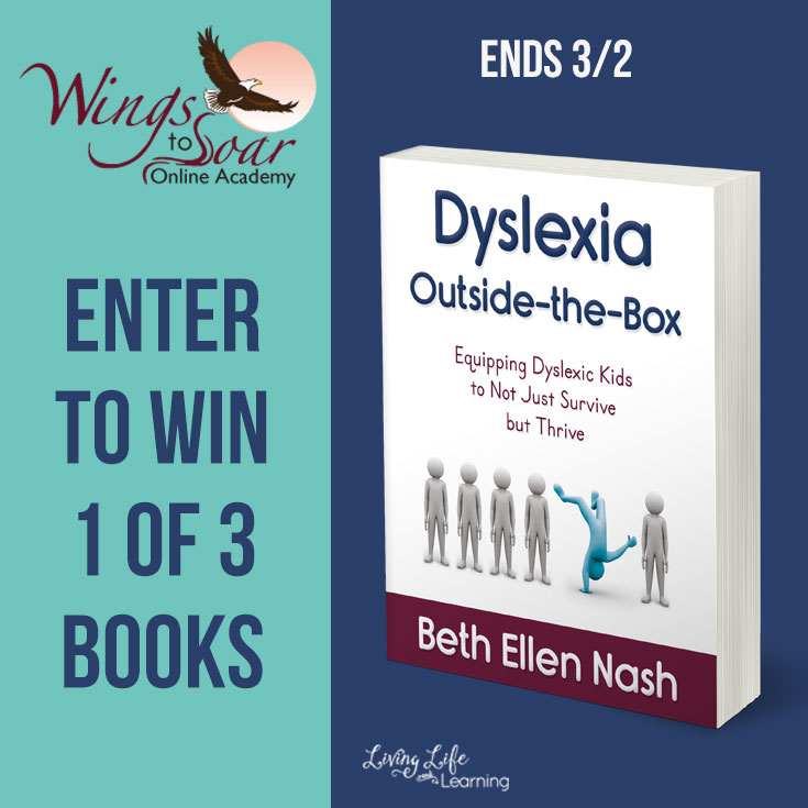 "Dyslexia affects quite a few people. It isn't an end to learning, but there is a difference in how they learn. Find out more and enter for your chance to win ""Dyslexia Outside the Box"" book too! :: www.thriftyhomeschoolers.com"