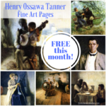 February Fine Art Pages Freebie ~ Henry Ossawa Tanner
