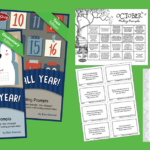 Free Journal All Year! Writing Prompt Calendar Bundle