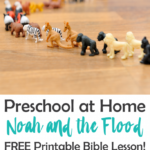 Free Noah and the Flood Printable Bible Lesson