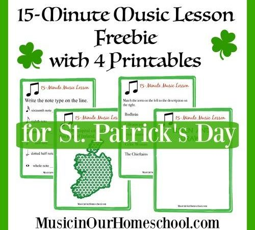 Free St. Patrick's Day 15-Minute Music Lesson