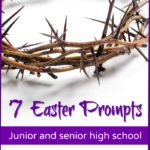 FREE Holy Week Writing Prompts for Teens