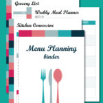 Limited Time FREEBIE ~ Busy Mom's Menu Planning Binder