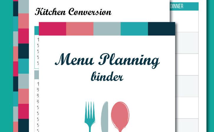 Limited Time FREEBIE ~ Busy Mom's Menu Planning Binder