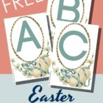 Free Easter ABC Flashcards