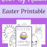 Free Easter Coloring by Number Printables