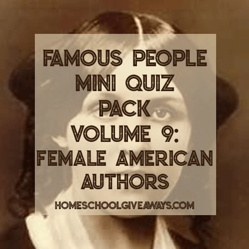 Whether you're focusing on them for the month of March or incorporating them into your other studies, don't miss this FREE printable Female American Authors Quiz Pack! Women included are Harriet Beecher Stowe, Sarah Orne Jewett, Frances Ellen Watkins Harper, and Louisa May Alcott. :: www.thriftyhomeschoolers.com