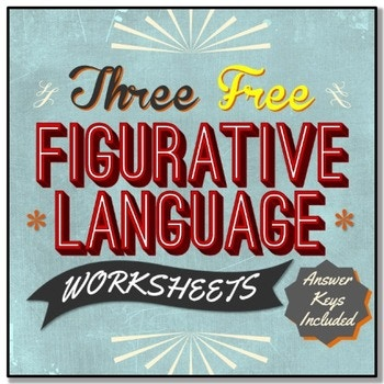 Does your middle or high schooler need help with Figurative Language? These 3 printable worksheets help students find and explain the figurative language used in popular song lyrics, prose (fiction) and a William Wordsworth poem. :: www.thriftyhomeschoolers.com