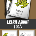Limited Time FREEBIE Frog Facts Color & Copywork