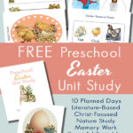 LIMITED TIME ~ Preschool Unit Study for Easter