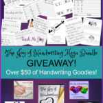 GIVEAWAY ~ Mega Joy of Handwriting Bundle ($50+ Value)