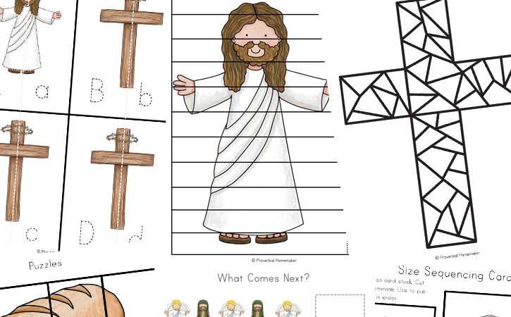 FREE He Is Risen Resurrection Pack