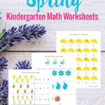 Free Spring Kindergarten Math Worksheets