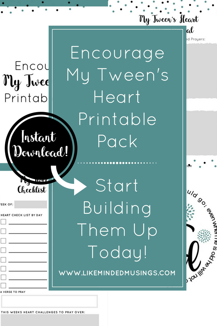 "Tween's are just plain awkward at that age. They don't really ""fit in"" with the high schoolers, but they're too big for elementary. Encourage them in this stage with this LIMITED TIME FREEBIE. Offer expires 3.19.18! :: www.thriftyhomeschoolers.com"