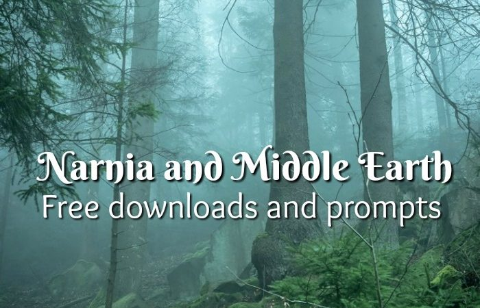 FREE Narnia & Middle Earth Writing Prompts