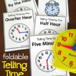 Free Telling Time Foldable Books