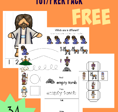 Resurrection Day Tot & PreK-K Pack + Emergent Readers
