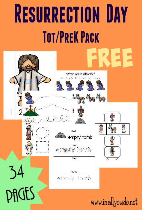 Help little ones learn more and bring Easter to life with this Resurrection Day Tot & PreK-K Pack and these Emergent Readers. The tot pack is perfect for little ones working on those fine motor skills and PreK - Early Elementary will enjoy the Emergent Readers. :: www.thriftyhomeschoolers.com