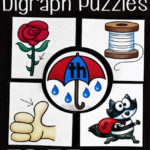 Spring Digraph Puzzles Freebie