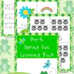 Spring PreK Learning Pack
