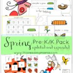 Spring Pre-K/K Pack Freebie