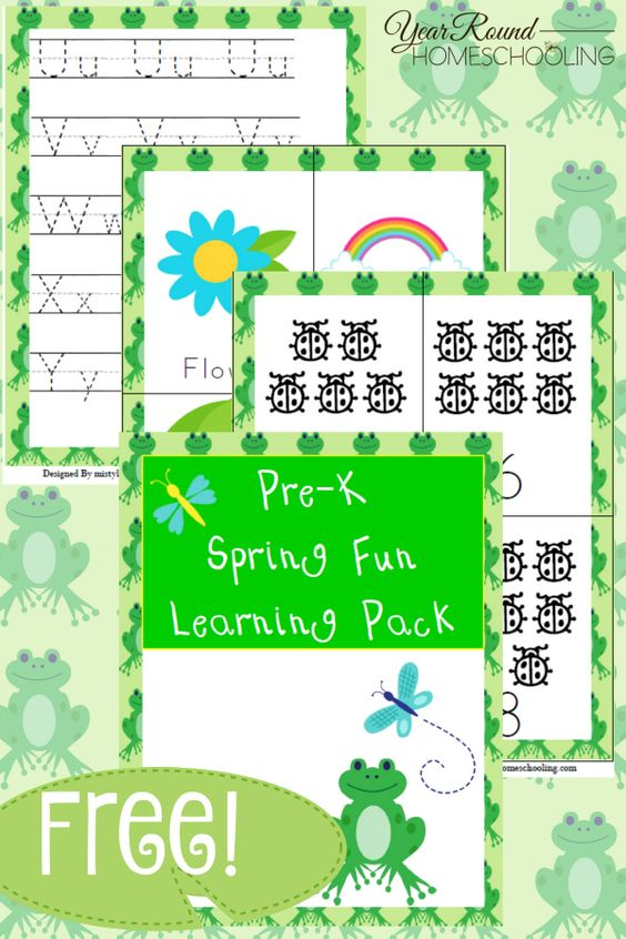 Do your little ones love seasonal worksheets? Check out this fun and educational Spring themed PreK Learning Pack your little ones are sure to enjoy! :: www.thriftyhomeschoolers.com